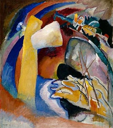 Kandinsky | Study for Painting with White Form | Giclée Canvas Print