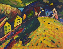 Kandinsky | Houses at Murnau | Giclée Canvas Print
