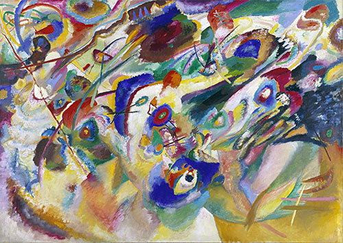 Sketch 2 for Composition VII, 1913 | Kandinsky | Giclée Canvas Print