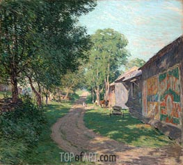 Willard Metcalf | Midsummer Shadows | Giclée Canvas Print