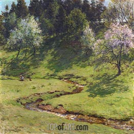 Willard Metcalf | Blossom Time | Giclée Canvas Print