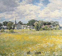 Willard Metcalf | Buttercup Time | Giclée Canvas Print