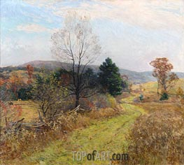 Willard Metcalf | Late Autumn, c.1924 | Giclée Canvas Print