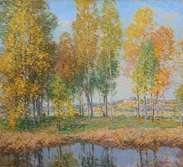 Willard Metcalf | October Festival | Giclée Canvas Print