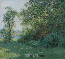 Willard Metcalf | The Bower | Giclée Canvas Print