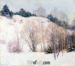 Willard Metcalf | Willows in March | Giclée Canvas Print