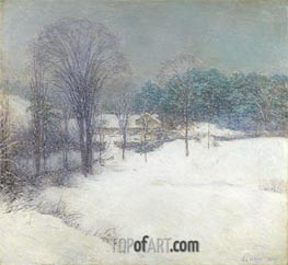 Willard Metcalf | The Enveloping Mantle, 1920 | Giclée Canvas Print