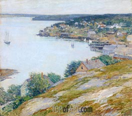 Willard Metcalf | East Boothbay Harbor, Maine, 1904 | Giclée Canvas Print
