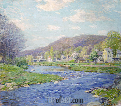 Willard Metcalf | Brook in June, 1919 | Giclée Canvas Print