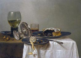 Claesz Heda | Still Life on a Table | Giclée Canvas Print