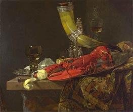 Willem Kalf | Still Life with Drinking Horn, c.1653 | Giclée Canvas Print