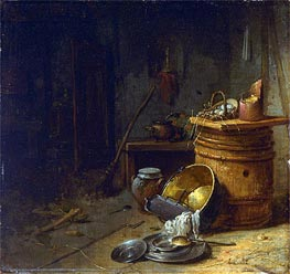 Willem Kalf | Kitchen, c.1642 | Giclée Canvas Print