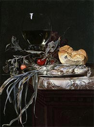 Willem van Aelst | Still Life with Fish Platter | Giclée Paper Print