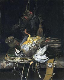 Willem van Aelst | Still Life with Game | Giclée Canvas Print