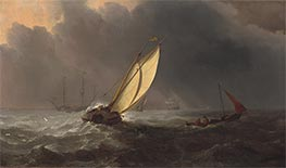 Willem van de Velde | Before the Storm | Giclée Canvas Print