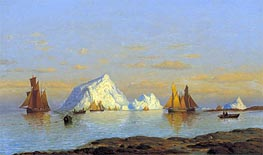 William Bradford | Fishermen off the Coast of Labrador, undated | Giclée Canvas Print