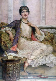 William Clarke Wontner | The Jade Necklace, 1908 | Giclée Canvas Print