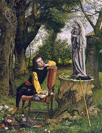 William Dyce | Titian Preparing to make his First Essay in Colouring, 1856 | Giclée Canvas Print