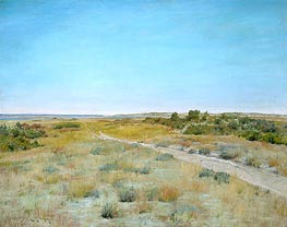 William Merritt Chase | First Touch of Autumn | Giclée Canvas Print