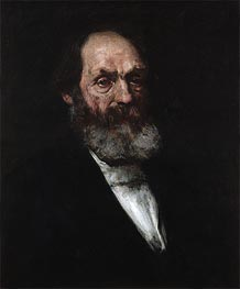 William Merritt Chase | Portrait of Edward Everett Hale, c.1884 | Giclée Canvas Print