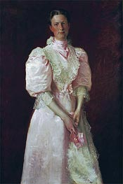 William Merritt Chase | A Study in Pink (Mrs. Robert McDougal), 1895 | Giclée Canvas Print