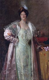 William Merritt Chase | Portrait of Miss J., c.1902 | Giclée Canvas Print