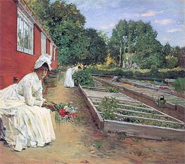 William Merritt Chase | The Nursery, 1890 | Giclée Canvas Print