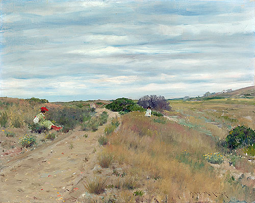 The Old Sand Road, c.1894 | William Merritt Chase | Painting Reproduction