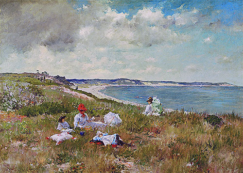 Idle Hours, c.1894 | William Merritt Chase | Painting Reproduction