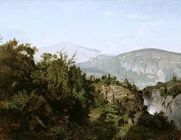 William Trost Richards | In the Adirondack Mountains | Giclée Canvas Print