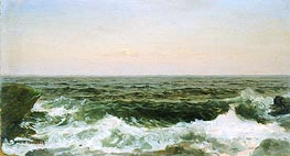 William Trost Richards | Sea off Cananicut Island, R. I. | Giclée Canvas Print