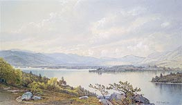 William Trost Richards | Lake Squam and the Sandwich Mountains | Giclée Paper Print