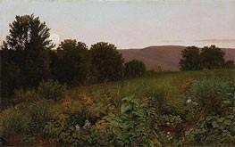 William Trost Richards | Sunset on the Meadow | Giclée Paper Print