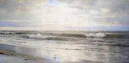 William Trost Richards | Atlantic Coast | Giclée Canvas Print