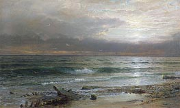 William Trost Richards | Point Judith | Giclée Canvas Print