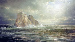 William Trost Richards | The Skelligs, Coast of Ireland | Giclée Canvas Print