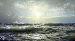 William Trost Richards | On the Coast of New England | Giclée Canvas Print