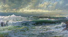 William Trost Richards | After a Gale | Giclée Canvas Print