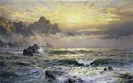 William Trost Richards | Mornings Mist, Guernsey | Giclée Canvas Print