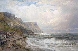 William Trost Richards | Portland Bill, England | Giclée Canvas Print