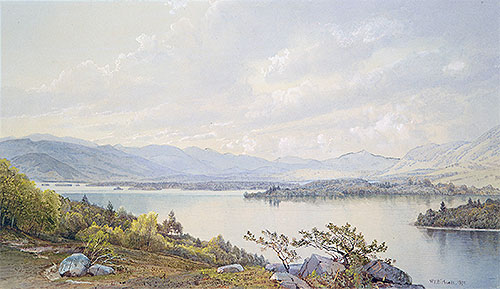 Lake Squam and the Sandwich Mountains, 1872   William Trost Richards   Giclée Paper Print