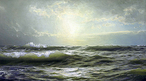 On the Coast of New England, 1894 | William Trost Richards | Giclée Canvas Print