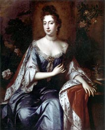 William Wissing   Queen Mary II, c.1690   Giclée Canvas Print
