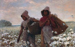 Winslow Homer | The Cotton Pickers | Giclée Canvas Print