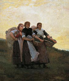Winslow Homer | Hark! The Lark, 1882 | Giclée Canvas Print