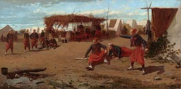 Winslow Homer | Pitching Quoits, 1865 | Giclée Canvas Print