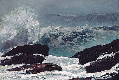 Maine Coast, 1896 | Winslow Homer | Giclée Canvas Print