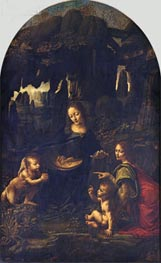 Leonardo da Vinci | The Virgin of the Rocks, c.1483/86 | Giclée Canvas Print