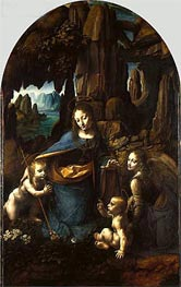 Leonardo da Vinci | The Virgin of the Rocks, c.1493/08 | Giclée Canvas Print