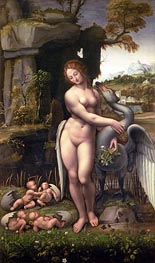 Leonardo da Vinci | Leda and the Swan, c.1505/15 | Giclée Canvas Print